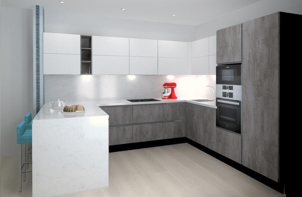 RIVA бетон серый Touch
